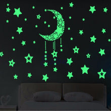 Load image into Gallery viewer, 3D Creative Luminous PVC Wall Sticker
