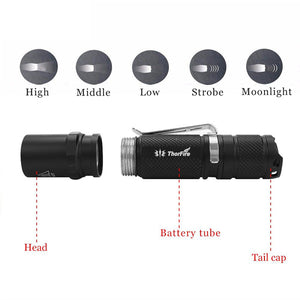 Mini EDC LED Flashlight