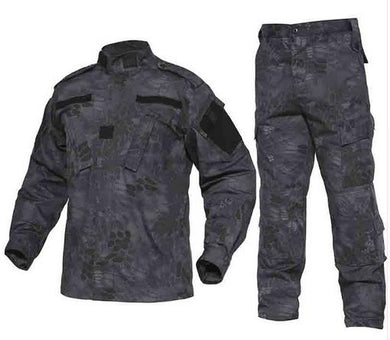 Hunting Men Tactical Jungle Cargo Combat Suit