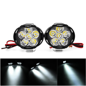 10W Motorcycle Spotlight Motor Bike Headlamp