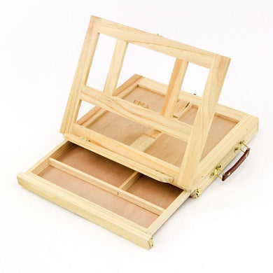 Pine Wood Artist Easel Painting Stand