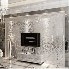 Load image into Gallery viewer,  Share to: 3D Silver Victorian Wall Sticker