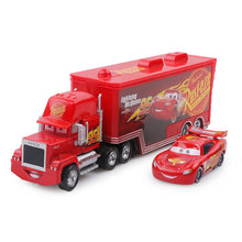 Load image into Gallery viewer, Lightning McQueen Truck Diecast Model Car