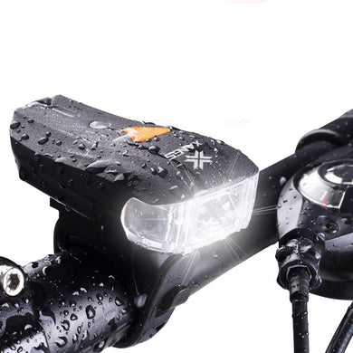 600LM XPG + 2 LED Bicycle German Standard Smart Sensor Warning Light