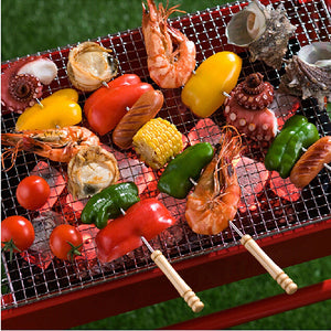 12 Pieces 38cm Barbecue Skewers