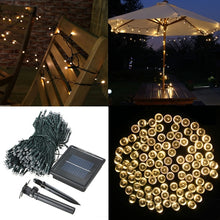 Load image into Gallery viewer, 400 LED Solar Powered Fairy String Light Garden Party Decor Xmas