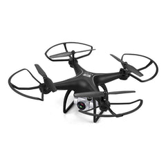 Professional Long Flying Time RC Drone With HD Camera - Black
