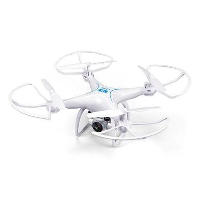 Professional Long Flying Time RC Drone With HD Camera - White - Zalaxy