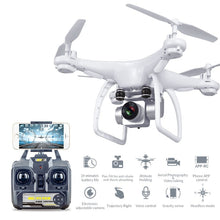 Load image into Gallery viewer, Professional Long Flying Time RC Drone With HD Camera - Black - Zalaxy