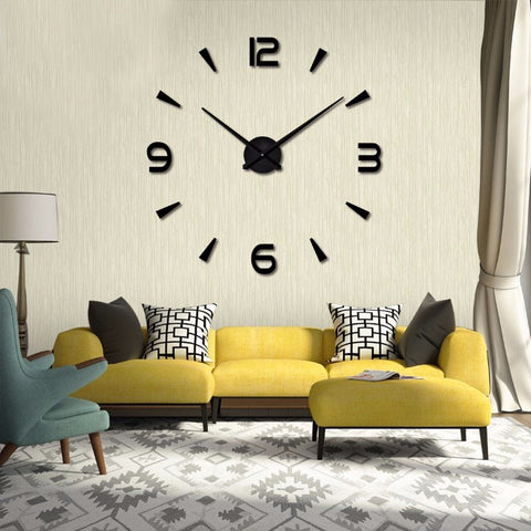 3D Wall Clock C10 - Zalaxy
