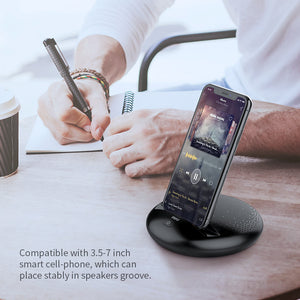 Portable Bluetooth Speaker with Smartphone Holder - Zalaxy