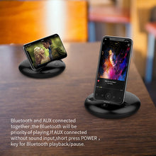 Load image into Gallery viewer, Portable Bluetooth Speaker with Smartphone Holder - Zalaxy