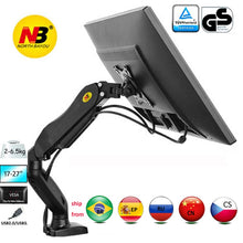 Load image into Gallery viewer, Monitor Desk Mount Stand Clamp Grommet Base PC Desk Holder
