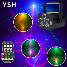 Load image into Gallery viewer, YSH DJ Disco Lighting Effect LED Party Lights Mini USB Laser Light Projector for Sale for Wedding Birthday