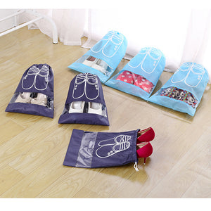 5 Pcs Water & Dust-proof Shoe Bags - Zalaxy