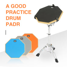 Load image into Gallery viewer, Practice Drum Pad Rubber Wooden Drum