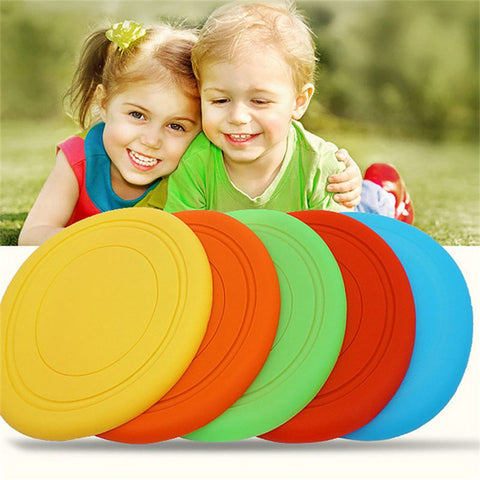 Kids Silicone Frisbee