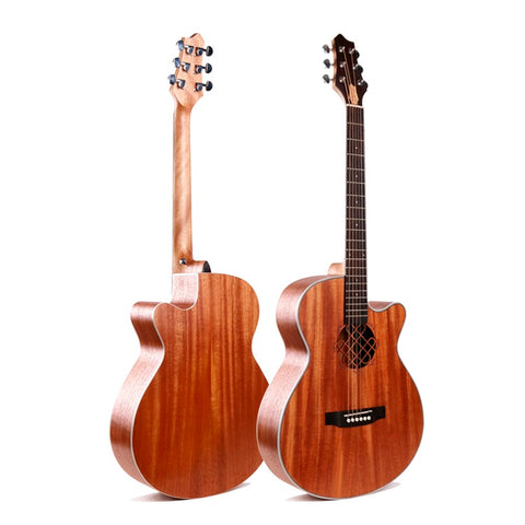 "40"" Acoustic Sapele Wood Guitar LG-01"