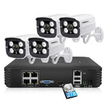 Full HD 1080P 4CH Outdoor Waterproof CCTV System 4pcs - Zalaxy