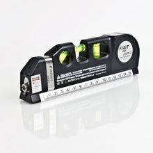 Load image into Gallery viewer, Multipurpose Laser Level Horizontal Vertical Measure Tape