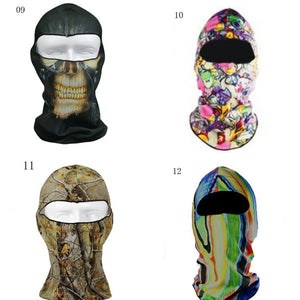 3D Motorcycle Balaclava Cover
