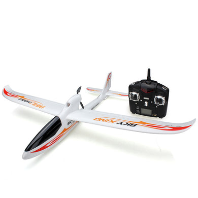 Sky King 2.4G 3CH 750mm Wingspan RC Airplane With Led RTF
