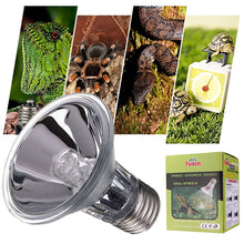 Load image into Gallery viewer, E27 Reptile Halogen Spotlight Warm Basking Full Spectrum UVA UVB Bulb