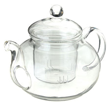 Load image into Gallery viewer, Heat Resistant Glass Teapot