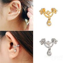 Load image into Gallery viewer, Crown Wrap Ear Cuff Earring