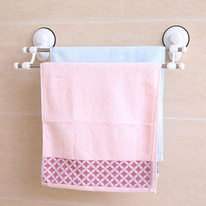 Bathroom Double Deck Towel Rack
