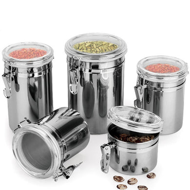 Durable Stainless Steel Canister