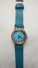 Load image into Gallery viewer, Luxury Royal Blue Couple Wood Watch