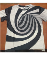 Load image into Gallery viewer, Black And White Printing T Shirt - Zalaxy