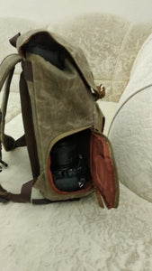 Canvas Waterproof Photography Bag - Zalaxy
