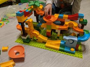 Marble Race Run Maze Jungle Adventure