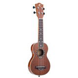 "21"" Sapele Soprano Thin Body Ukulele Z01 - Zalaxy"