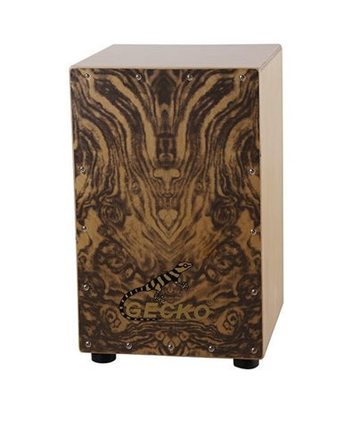 Full Size Cajon Hand Drum Box Birch Wood ZA08 - Zalaxy