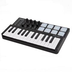 25-Key MIDI Keyboard & Drum Pad