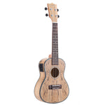 "24""Cowry Shell Pro Concert Ukulele with LED EQ ZA32 - Zalaxy"