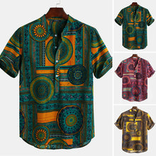 Load image into Gallery viewer, Men's Floral Ethnic T Shirts