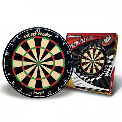 "18""x1-1/2"" Match Play Bristle Dartboard - Zalaxy"