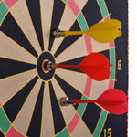 "15"" Portable Magnetic Dartboard - Zalaxy"