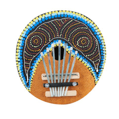 7 Keys Finger Coconut Shell Kalimba