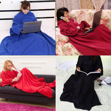 Load image into Gallery viewer, 180cm Soft Fleece Wearable Blankets