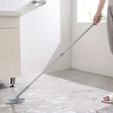 Retractable Bathroom Long Handle Brush Wall Floor Scrub