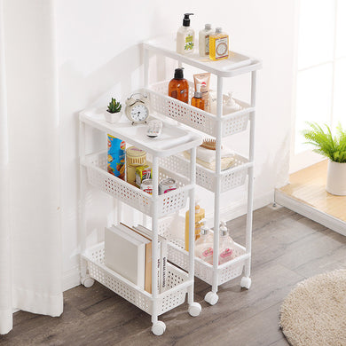 Multi-Layer Quilted Storage Rack
