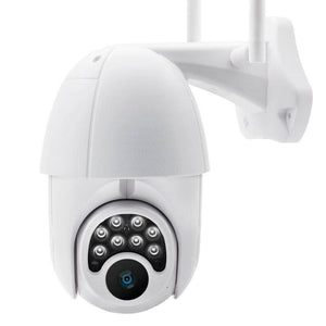 Wifi HD 1080P IP Camera 8 LEDS Infrared 6x Zoom Outdoor Camera