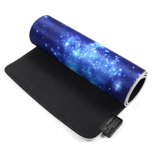 USB Wired LED Starry Sky Large Mouse Pad