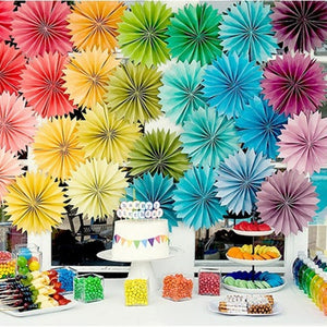 12 Colors DIY Decorations Flower Comb