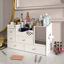 Load image into Gallery viewer, Make-up Cosmetic Organizer Jewelry Storage